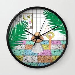 Memphis Terrazzo Wall Clock