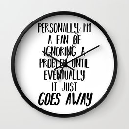 Teen Wolf - Stiles Stilinski - Ignoring A Problem Wall Clock