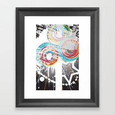 iPhone cover 5 Framed Art Print