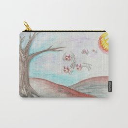 Flying Eyes by Mouth Moonlight  Carry-All Pouch