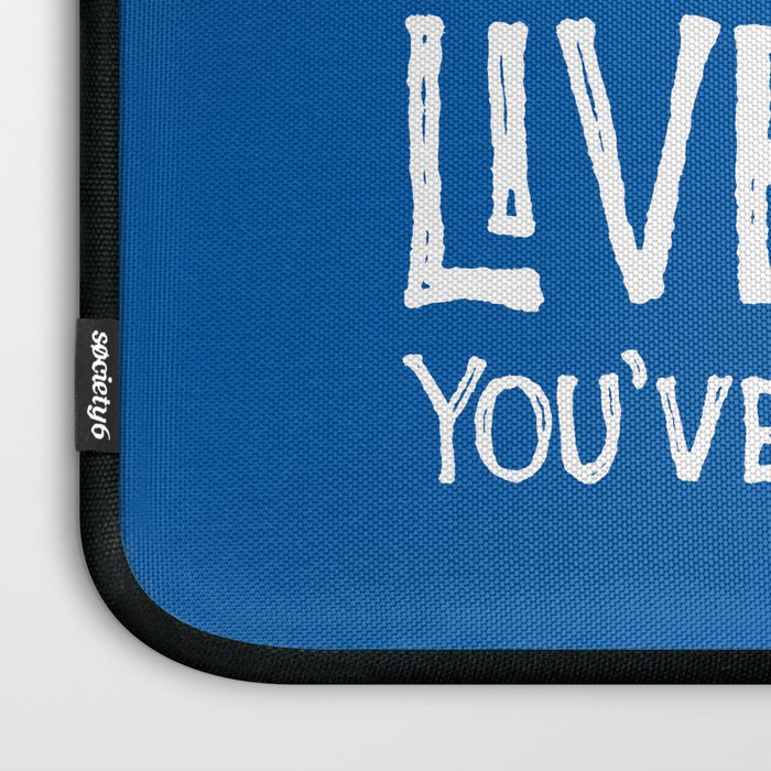 Go Confidently In The Direction Of Your Dreams Laptop Sleeve