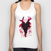 tokyo ghoul Tank Tops featuring Kaneki Tokyo Ghoul 4 by Prince Of Darkness