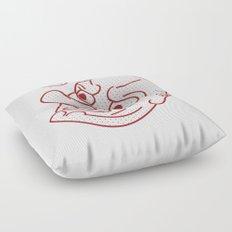 Tengu Mask Floor Pillow