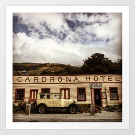 Cardrona Hotel Art Print
