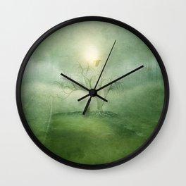 Greenery Sunrise Wall Clock