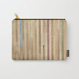 Wooden wall panel Carry-All Pouch