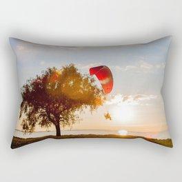 Grand Escape on Summer Sunset Rectangular Pillow