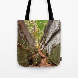 Gettysburg Grotto Tote Bag