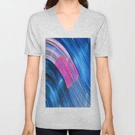 Love From Way Above Unisex V-Neck