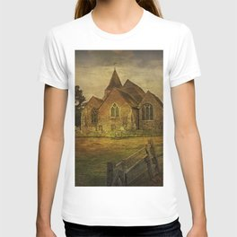 St Clement's Old Romney From The East T-shirt