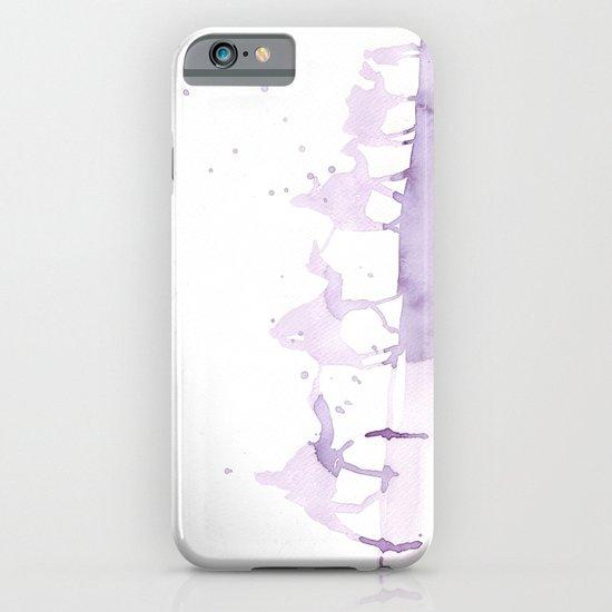 Watercolor landscape illustration_Sahara iPhone & iPod Case