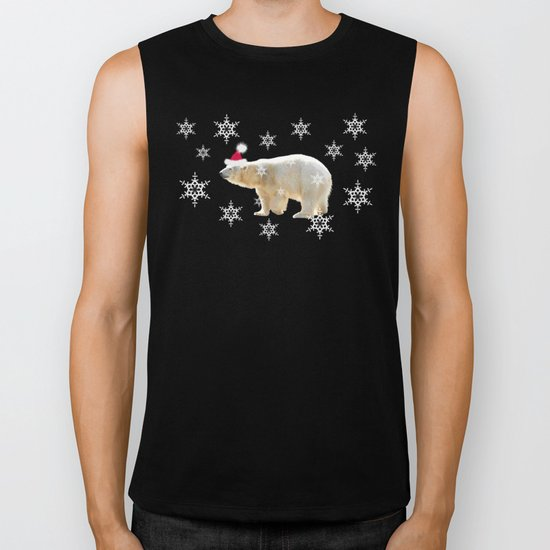 Polar Holiday Biker Tank