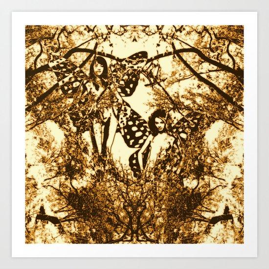 Fairy Double Art Print
