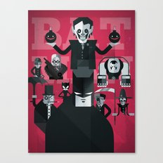dark man fan art Canvas Print