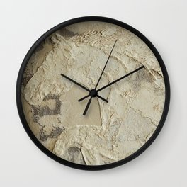 Horse in Stone Wall Clock