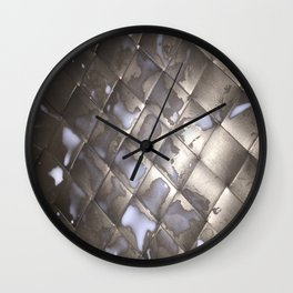 Milk Mat Wall Clock