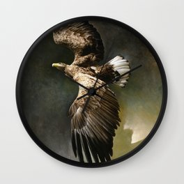 White-tailed eagle Wall Clock