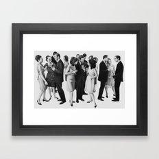 the cold war Framed Art Print