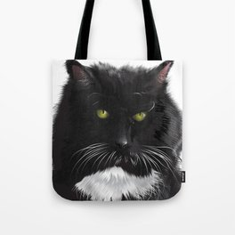 Cat Xena Warrior Princess Tote Bag
