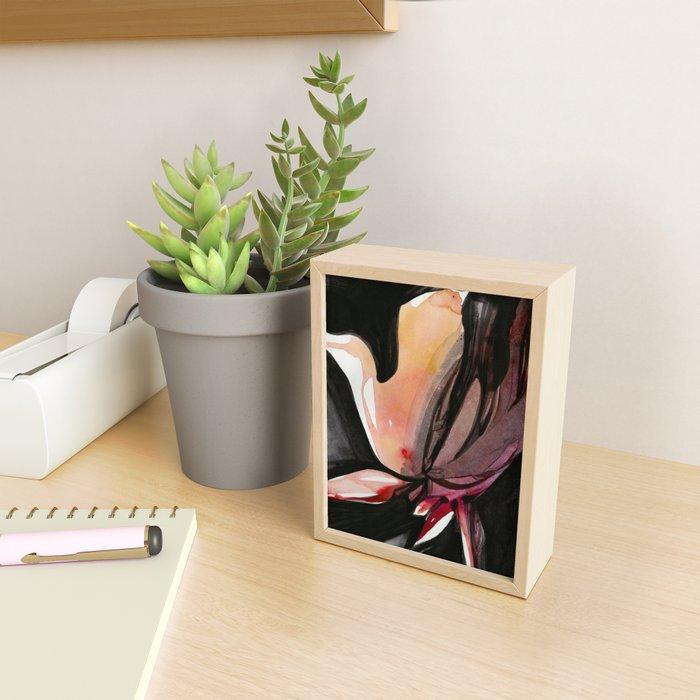 Organic Embrace 2 by Kathy Morton Stanion Framed Mini Art Print