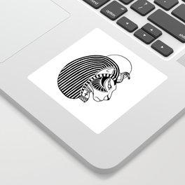 Tefnut Egyptian Goddess Sticker