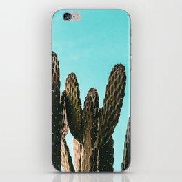 Cactus Photography Print {1 of 3} | Teal Succulent Plant Nature Western Desert Plants  Design Decor iPhone Skin