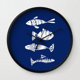 Sea fishes Wall Clock