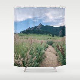 Trail at Chautauqua Shower Curtain