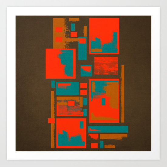 Textures/Abstract 64 Art Print