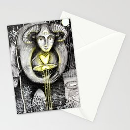 Return Of The Light Stationery Cards