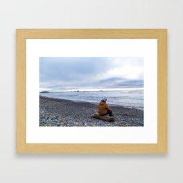 Rocky Shores Framed Art Print