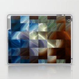 Metal Squares Laptop & iPad Skin