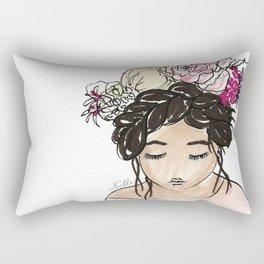 Flower Crown Clara Rectangular Pillow