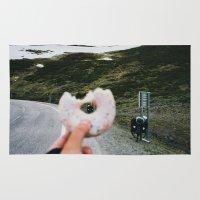 doughnut Area & Throw Rugs featuring Doughnut by A. Serdyuk