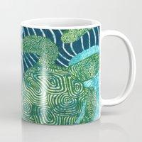 turtles Mugs featuring sea turtles by Ariadne