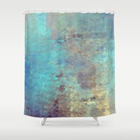 cracked Shower Curtains featuring Cracked by Jessielee