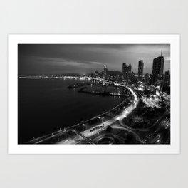 Panama City Sin Colores Art Print