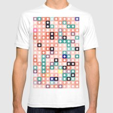square dance White Mens Fitted Tee MEDIUM