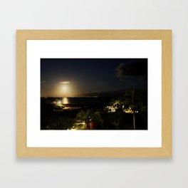 Light Invades Night Framed Art Print