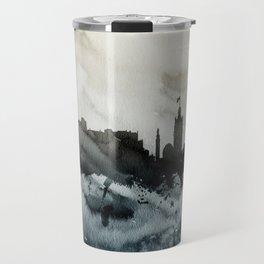 Edinburgh Scotland Skyline Travel Mug