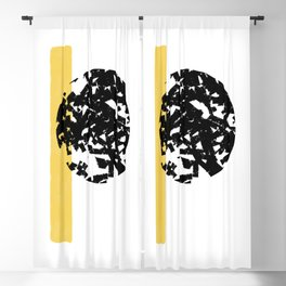 Abstract Moon #society6 #abstractart Blackout Curtain