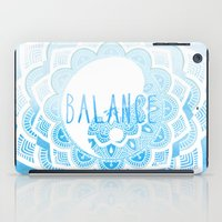 balance iPad Cases featuring Balance by Sara Eshak