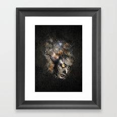 Broken Surface Framed Art Print