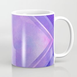 Mosaic Tile // Violet Watercolour Coffee Mug
