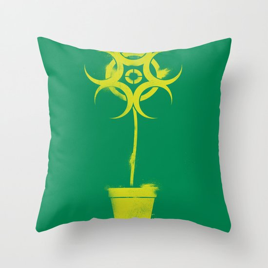 No More Hazard Throw Pillow