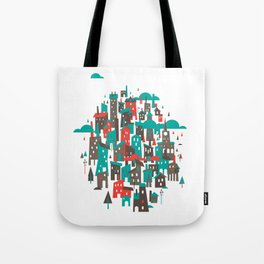 The Town Tote Bag