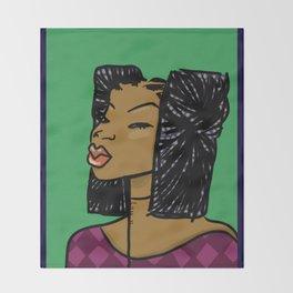 Kampire by Naddya Throw Blanket
