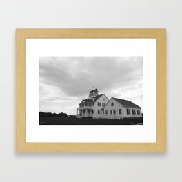 Coast Guard House Framed Art Print