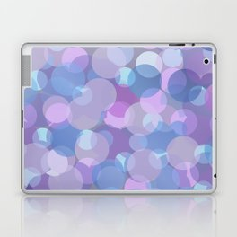 Pastel Pink and Blue Balls Laptop & iPad Skin