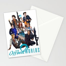 The Cast of Offbeatworlds Stationery Cards